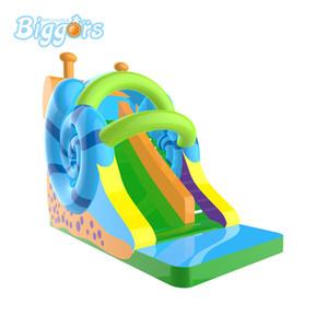 Satılık Fabrika Fiyatı Ticari Kullanım Sıcak Satış Salyangoz Çin Şişme Jeux Gonflables Su Havuzu Slide