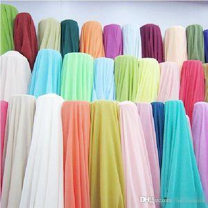 5yards 100D Chiffon abito Abiti Tessuto per sposa / Prom / sera / / Cocktail / Abiti da damigella d'onore di colore Grafici del partito del vestito Tessuto