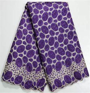 Moda patern afrika nakış dantel kumaş ile güzel decroation organze dantel malzeme için parti 4O01-PP, 5 yards / pc