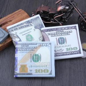 Neuheiten Trendy Old und New Dollar Pattern Quer Short Style PU-Leder Geldbörsen Kreditkarte Mode