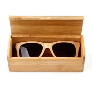 High quality bamboo sunglasses boxs glasses boxs glasses box retro wooden box sun glasses Bamboo Glasses case Retro sunglasses BOXS