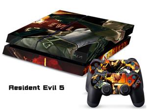 Sony PS4 KONSOL KONTROL için Resident Evil 5 ÇıKARTMA CILT KORUYUCU STICKER