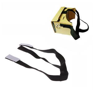 Alça de cabeça Destacável Elastic Ajustável Head Mout Strap Belt para Google Cardboard Óculos de Realidade Virtual VR 3D