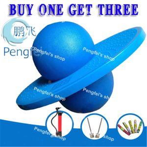 Envío al por mayor-libre Rock Hopper Equilibrio Pogo Jumping Ejercicio Space Ball Sport Development Toy