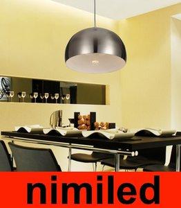 Nimi556 Avrupa Modern Restoran Işık Avize Çubuğu Lambası Continental Yarım Küre Çalışma Işık Sanat Yarım Daire Kolye Aydınlatma