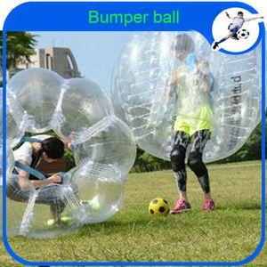 Großhandels-CE Dia 1.2m aufblasbare PVC-Blase Fußball-Zorb Ball für Kinder, aufblasbarer menschlichen Hamster Ball Stoßkugel Outdoor Fun Sport