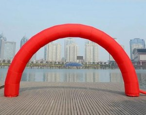 Brand New Discount 20ft * 10ft D=6M / 20ft inflatable Red arch Advertising