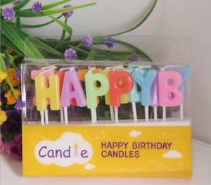 Mutlu yıllar Sanat mum çocuklar hediye mini mumlar Doğum Günü egzotik atmosfer kaynağı sevgililer günü hediyesi decoratiions