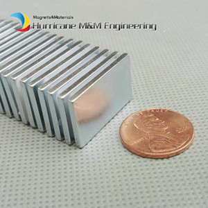 1 Pack Grade N42 NdFeB Block 40x20x2 mm about 1.57'' Rectangle Strong NdFeB Bar Neodymium Permanent Magnets Rare Earth Magnets