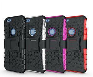 IPhone 6 Hibrid Vaka, Ağır Dayanıklı TPU PC Robot Kılıfları iPhone 6 Için 4.7 Artı 5.5 5C 5 S Galaxy S5 S4 S3 Not 3 Not 2 M8 0001
