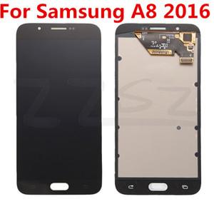 Las novedades para el Samsung Galaxy A8 A8 2016 LCD de la pantalla táctil LCD original de reemplazo de 100% probado con herramientas de reparación libre