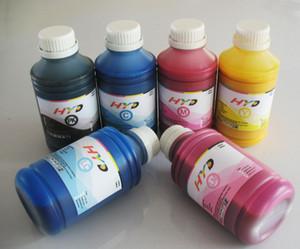 Tinta do pigmento do reenchimento 500ml * 6 para o tanque da tinta da impressora do grande formato de Canon W8200pg W8400, eu reencha o cartucho de tinta