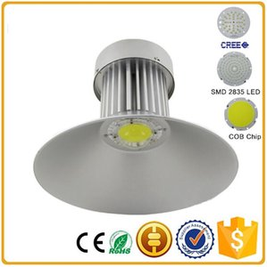 La station service légère industrielle élevée de stade de lumière de baie de LED a mené les lumières SMD2835 100W 120W 150W 200W AC85-265V d'entrepôt d'auvent
