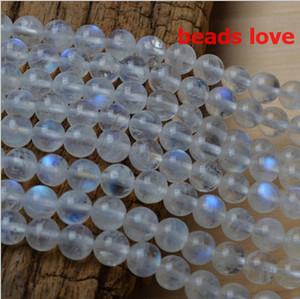 Wählen Sie Größe 4.6.8 .10MMmm natürlicher Mondstein-runde lose Korne frei Shipping-F00191 aus