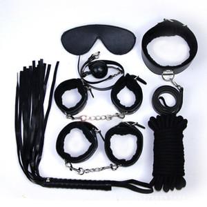 성인 재미 수갑 구속대 붕대 대체 요법 장난감 코스프레 키트 # R45