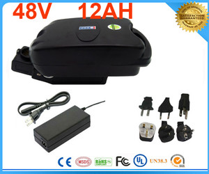 High quality lithium battery 48v ebike battery 48v 12ah lithium battery with free customs taxes