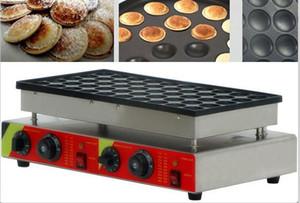 Envío libre 50 PC eléctrico 110v 220v Pancake la máquina del fabricante Poffertjes Grill