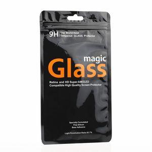 Персонализированные пластиковые пакеты для iPhone 8 8plus X закаленное стекло-Экран протектор упаковка мешки