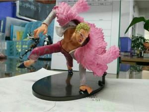 17CM Anime One Piece Version de bataille décisive Donquixote Doflamingo En Boîte PVC Action Figure Collection Modèle Jouet