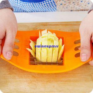 Nuevo cortador de patatas fritas de acero inoxidable Máquinas cortadoras Papas fritas verticales Cortadores de tiras Utiles de cocina herramientas