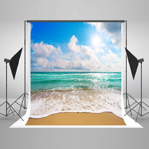 Freeshipping 10X20FT Kate verano playa fotografía telones de fondo fondos de playa para Photo Studio niños fotografía apoyos telones de fondo