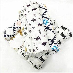 19 Diseño Mirale Baby Summer 100% algodón Muselina Una sola capa bebé toalla manta recién nacida bebé swaddle abrigo infantil 120x120cm 180g