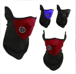 Moda Meio Rosto Máscaras de Esqui À Prova de Vento Motocicleta Armaduras Quentes Snowboard Anti-Poluição Protetor de Inverno Equitação Máscara de Bicicleta Máscara de Engrenagem