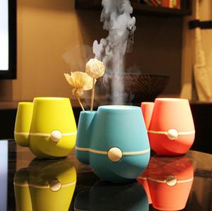 Creative small vase humidifier, USB Mini Desktop Silent Air Purifier, ultrasonic atomization humidifier tank capacity 220ML