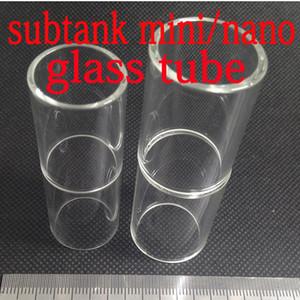 Kangertech sous-réservoir MINI sub nano réservoir en verre inoxydable tube VS E cigarette Aspire mini Nautilus remplacement pyrex réservoir en verre inoxydable tube