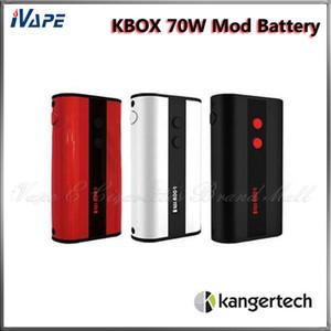 100% Original Kanger KBOX 70 W TC Mod 4400 mah Temperatura de Controle Variável Potência TC / VW 18650 Ecigarette Mod Preto Vermelho Branco Disponível