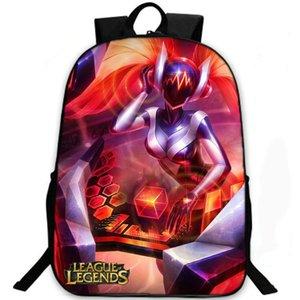 Sona Buvelle sırt çantası ipleri Maven lol sırt çantası Maven Efsaneler Ligi oyunu schoolbag Eğlence sırt çantası Spor okul çantası Açık gün paketi