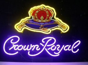 NUEVO CROWN ROYAL BEER BAR PUB NEON LIGHT SIGN C201