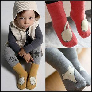 Prettybaby Kinder verdickte Frottee Wintersocken Baby Tier Bunny Dogs Foxes Muster Kinder süße Baumwolle Socken Strümpfe Pt0038 #