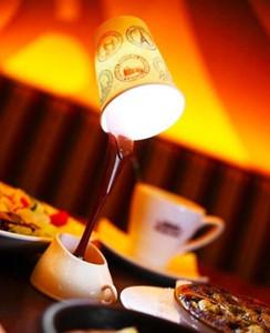 Dropshipping DIY LED 밤 램프 테이블 가정 훈장 낭만주의 커피 빛 Usb 또는 건전지 승진 크리스마스 선물