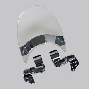 Motorcycle Windshield WindScreen For 2005-2014 Suzuki Boulevard S40 S50 S83 S 40 50 83 06 07 08 09 10 11 12 13 Clear
