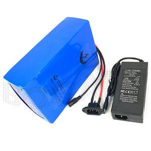 eBike Батарея 48 В 1000 Вт Литиевая Батарея 48 В 20AH Электрический Аккумулятор Велосипеда с 54.6 В 2A Зарядное устройство 30A BMS 1000 раз цикл