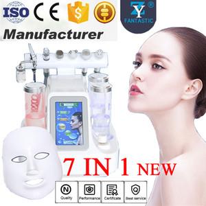 Nuovo arrivo 7in1 Hydro Microdermabrasion Macchina Face Cleaner Acqua dermoabrasione Peeling Cura del viso Ringiovanimento della pelle BIO Lifting Equipment