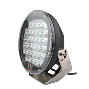 9 pollici 185W 4X4 LED Driving Light CREE LED Off road Light 12V 24V per auto Offroad 4WD SUV Jeep Truck Spot Flood Faretto luminoso LED eccellente