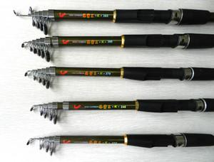 جديد قضبان الصيد الغزل الكربون قضبان تلسكوبية صيد السمك معدات الصيد الجودة 2.1M-3.6M FR901-E