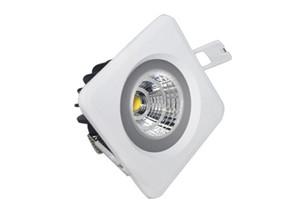 12 pcs Frete grátis 10 W 15 W IP65 À Prova D 'Água Pode Ser Escurecido SMD Driverless LEVOU Teto baixo Downlight Recesso Downlight AC100 ~ 260 V