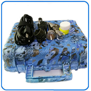 El más barato E Nail Pelican Electric dab nail ENAIL controller cera PID TC box con 10mm / 16mm / 20mm domeless calentador de bobina