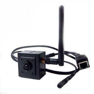 960P H.264 Onvif mini cámara ip wifi HD Wifi Cámara IP Inalámbrica P2P Plug Play Camera 2.8mm lente orificio para micrófono compatible