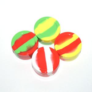 contenitore di cera siliconica riutilizzabile 22ml contenitore di silicone antiaderente contenitore di silicone contenitore per e-cig atomizzatore cera vasi di silicone dab contenitore di cera