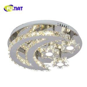 FUMAT 2017 Novelty Moderno LED Luces de Techo de Cristal Luz de Luna Lámpara de Techo Fixture luminaria Niños Dormitorio Decoración Del Hogar