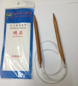 12pairs / lote 2.0-8.0mm bambu tricotar circular linha de fio de agulha circular conjunto de agulha camisola de malhas das agulhas de tricotar ferramentas