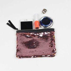 Pacchetto di sera del sacchetto dei paillettes della sirena di scintillio Pacchetto di lusso impermeabile delle borse di viaggio della borsa del partito delle donne Pacchetto multifunzionale impermeabile LDH69