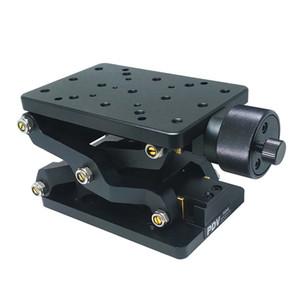 PT-SD408 elevación manual precisa, eje Z Manual Lab Jack, elevador, elevación deslizante óptica, recorrido de 60 mm