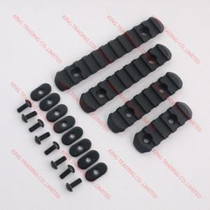 De boa qualidade Conjunto de trilho de 4 peças para MP PTS M-O-E Handguard preto / terra escura / Olive Drab (KT3520)