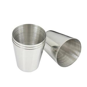 Gros-NFLC 1 oz 35ml vin en acier inoxydable à boire des verres Shot Barware Cup