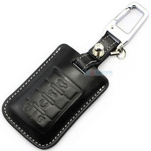 Cadillac SLS SRX Için hakiki deri araba anahtarı durum Kapak ESCALADE CTS COUPE XTS ATS Seville anahtarlık anahtarsız anahtarlık kabuk
